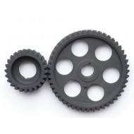 Distribution gear set (crank, cam and alternator gear)